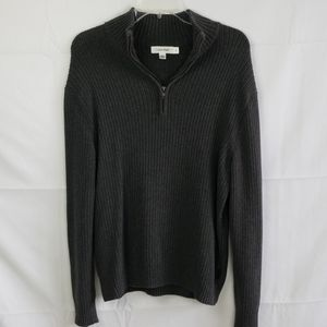 Calvin Klein Grey Pull Over Long Sleeve Sweater